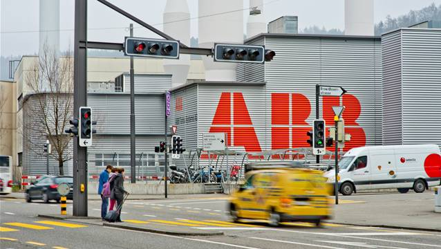 Das Werk der ABB Turbo Systems in Baden.