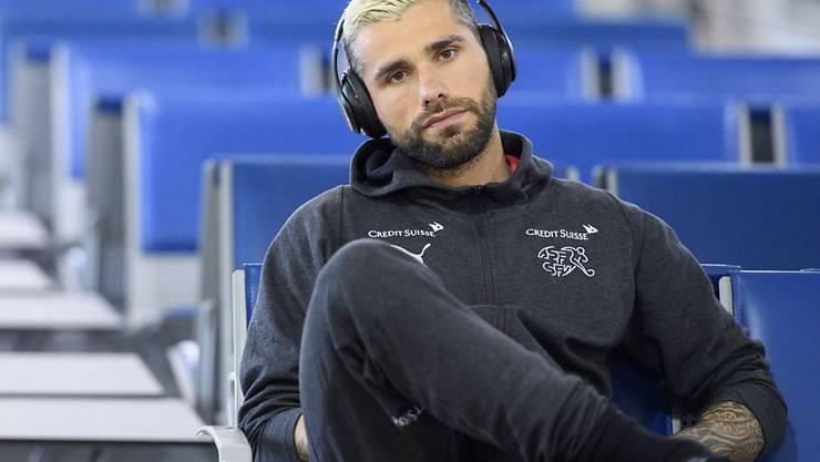 Erhält gegen Panama eine Pause: Mittelfeldspieler Valon Behrami leidet unter muskulären Problemen im Oberschenkel