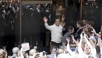 Robbie Williams knüpft mit seiner Musik an die Erfolge von Elvis Presley an.