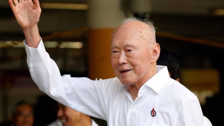 Lee Kuan Yew, Staatsgründer von Singapur, ist im Alter von 91 Jahren gestorben