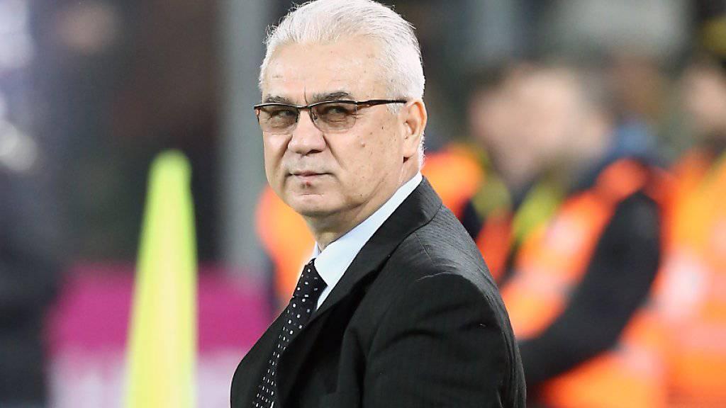 Die Erwartungen an das rumänische Team und dessen Trainer Anghel Iordanescu sind vor der EM-Endrunde nicht allzu hoch