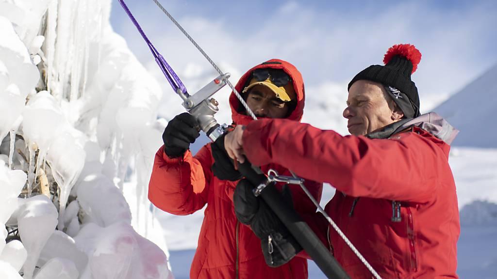 Innovation vom Himalaya soll Schweizer Gletscher retten