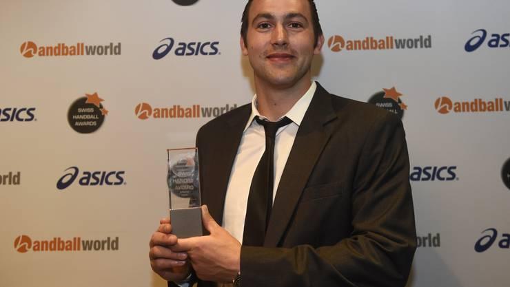 Marcel Hess ist MVP der Saison 2014/2015.