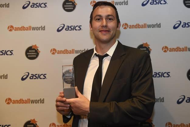 Marcel Hess (Pfadi Winterthur) wurde zum MVP der Saison gewählt.