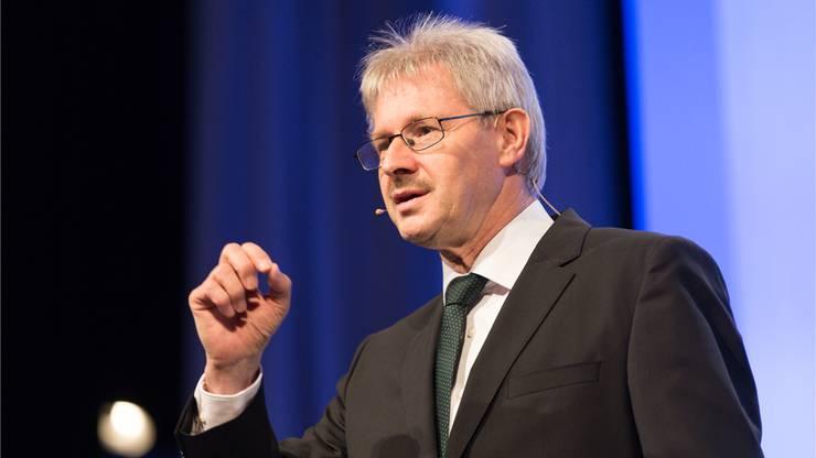 Kurt Schmid, Präsident des Aargauischen Gewerbeverbands