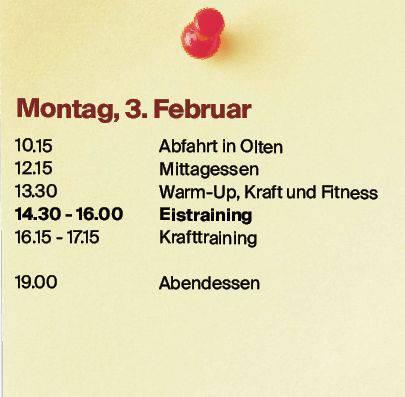 Montag, 3. Februar