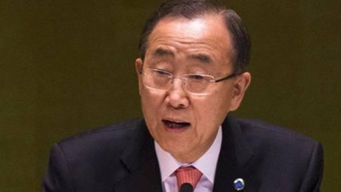 Ban Ki Moon fordert Mitgliedsländer der UNO auf, ihre Hilfe zu verstärken (Archiv)