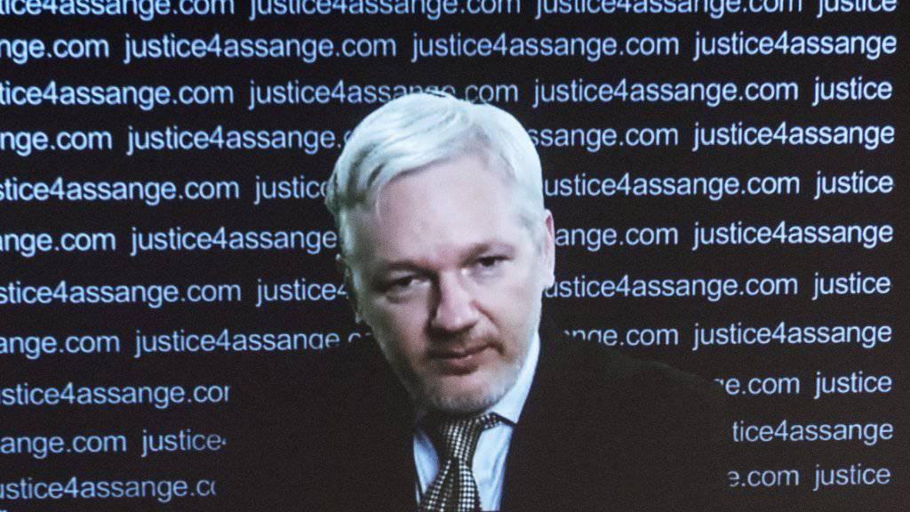 Die Enthüllungsplattform Wikileaks machte mit ihren Publikationen US-Präsidentschaftskandidatin Hillary Clinton das Leben schwer. (Archiv)