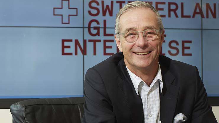 """""""Längerfristig hat aber eine graduelle, kontinuierliche Aufwertung durchaus auch volkswirtschaftliche Vorteile: Sie bringt die Unternehmen dazu, stets die Produktivität zu erhöhen."""": Daniel Küng, Chef der Exportförderungsorganisation Switzerland Global Enterprise."""