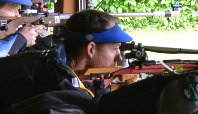 Oliver Brechbühl in Aktion