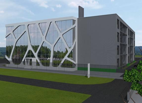 High-Density-Datacenterfläche sowie Bürofläche.