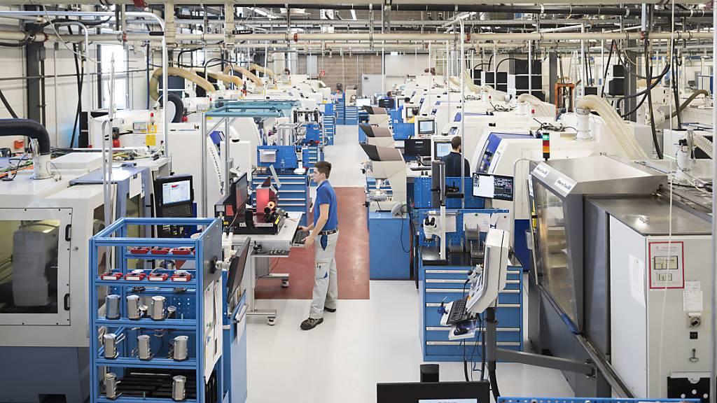 Der Maschinenbauer Mikron bautan seinem Tessiner Standort Agno 60 Vollzeitstellen ab. (Archivbild)