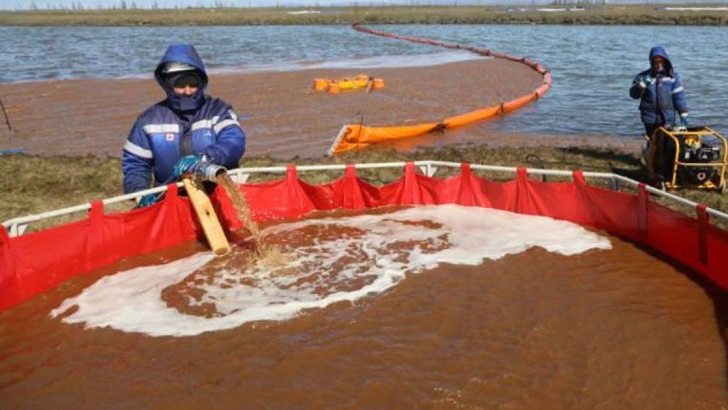 Riesige Ölkatastrophe macht Missstände in Russland deutlich