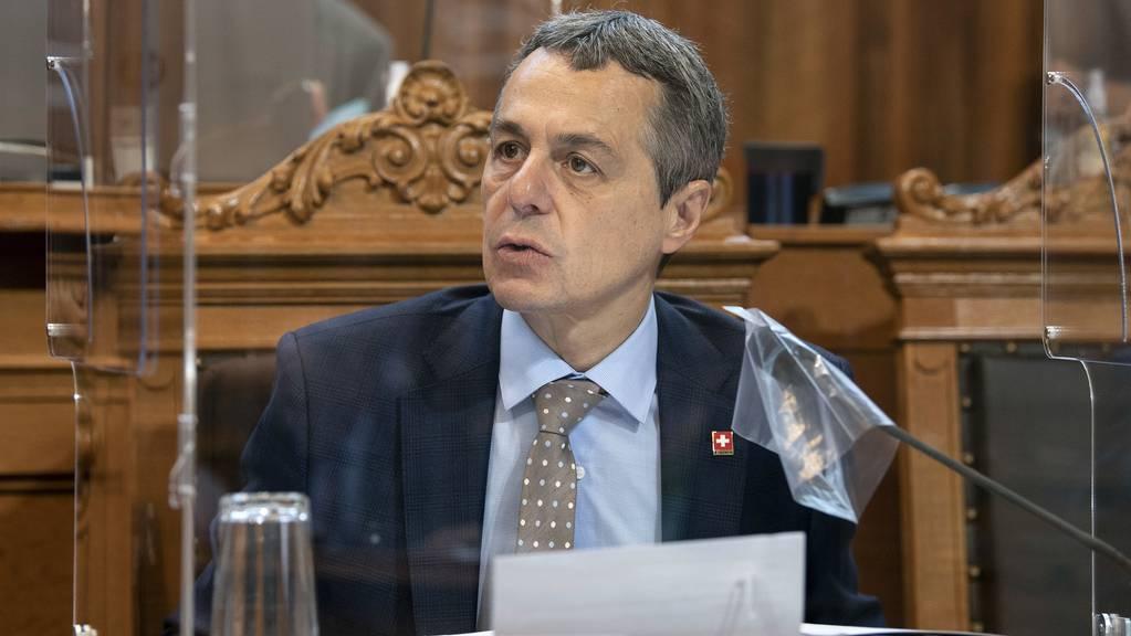 Bundesrat Ignazio Cassis will die Mehrsprachigkeit fördern. (Archiv)