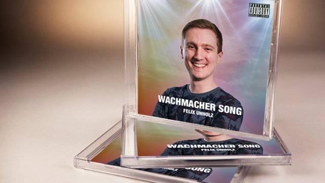 Wie macht sich Felix auf seinem CD-Cover?