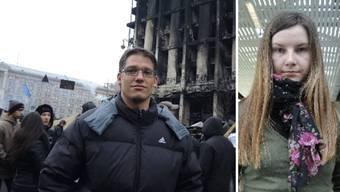 «Nordwestschweiz»-Reporter Fabian Hägler in der Ukraine