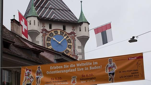 Das Weltcupfinale im Orientierungslauf wurde 2013 in Baden durchgeführt. Dafür wird die Stadt nun ausgezeichnet.