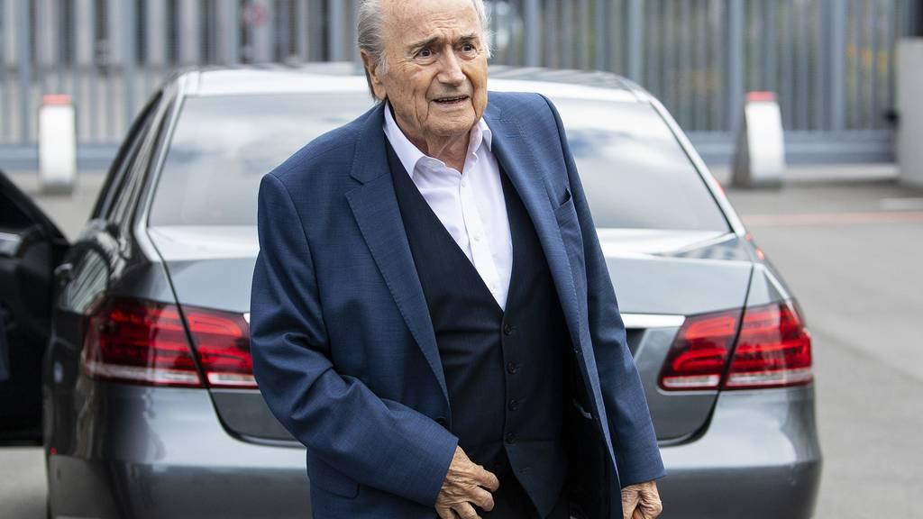 Fifa reicht Strafanzeige gegen Sepp Blatter ein