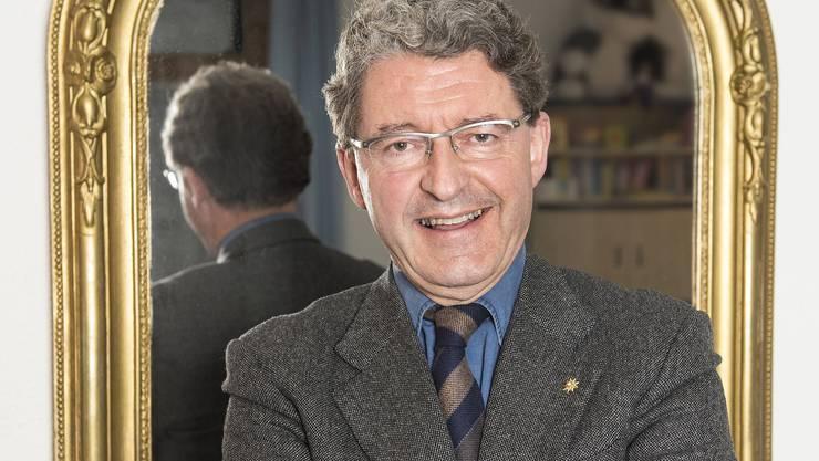 Nutzte seine neue Rolle: Vizepräsident Heinz Brand brachte den Nationalrat zum Lachen.