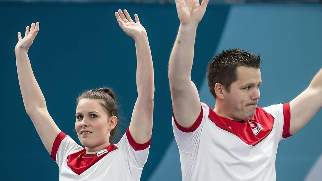 Jenny Perret und Martin Rios sind auch in Aberdeen auf gutem Kurs