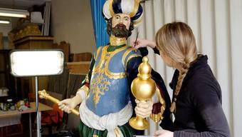 Die Basler Drei Könige sind in Gelterkinden zur Kur