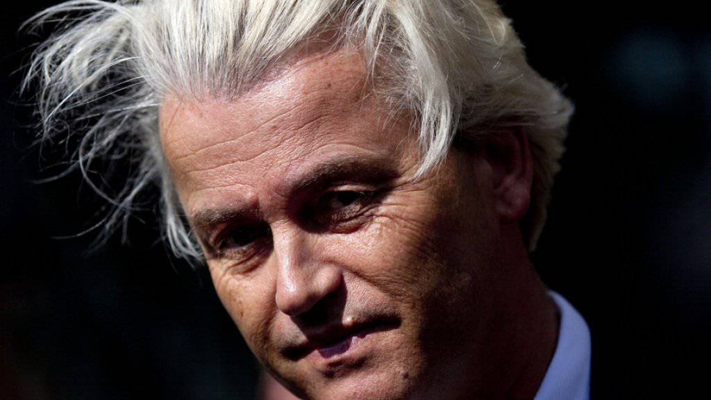 """Geert Wilders hatte die Regierung aufgefordert, so schnell wie möglich ein Referendum über einen """"Nexit"""" auszuschreiben. (Archivbild)"""