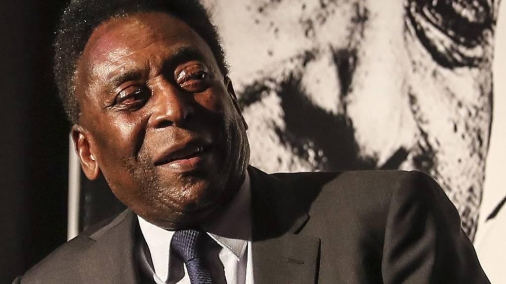 Fussball-Legende Pelé im Krankenhaus
