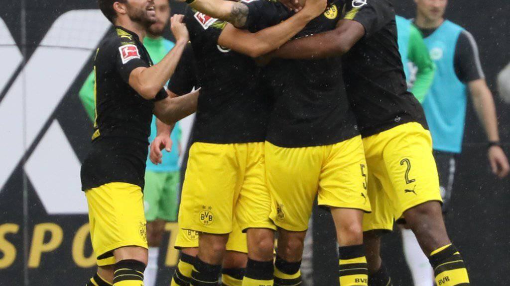 Borussia Dortmund startete mit einem souveränen Sieg in die neue Bundesliga-Saison