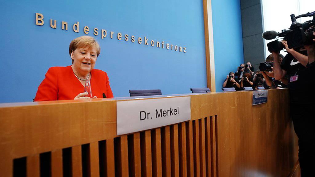 Merkel begrüsst neuen Anlauf im Streit um Flüchtlinge