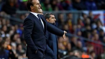 Die Clasico-Niederlage von Real Madrid könnte das letzte Spiel von Coach Julen Lopetegui gewesen sein