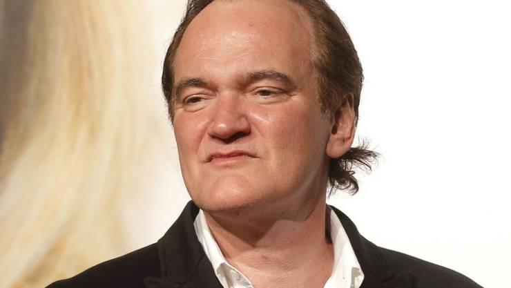 """Quentin Tarantino dreht """"Once Upon a Time in Hollywood"""" mit Leonardo DiCaprio und Brad Pitt. Es gibt Gerüchte, wonach der Mord an Sharon Tate im Fokus der Geschichte steht. (Archivbild)"""