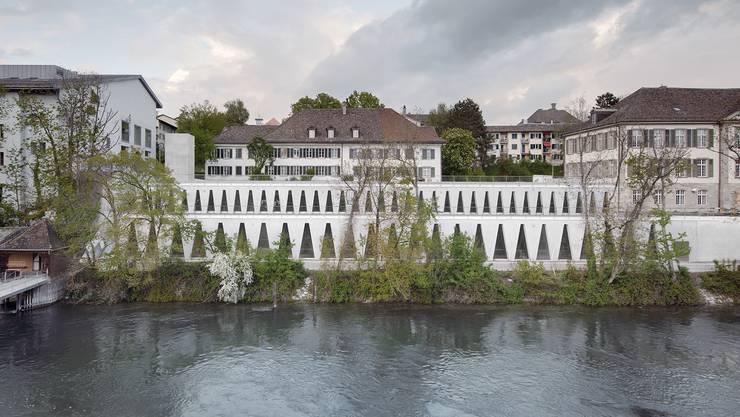 Blick auf den Ersatzneubau für das Tanzhaus Zürich.