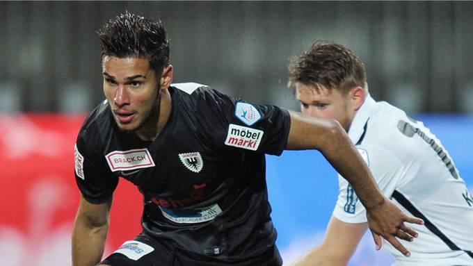 Miguel Peralta hat seinen Vertrag beim FC Aarau bis 2021 verlängert
