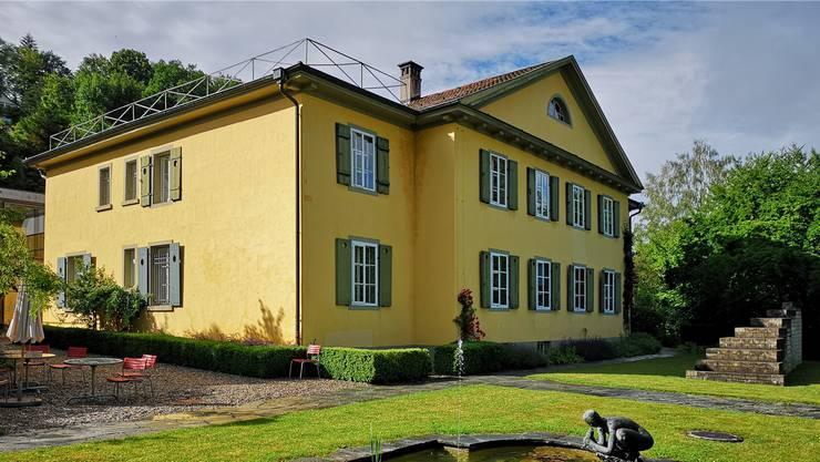 Die Villa Blumenhalde steht am Hungerberg oberhalb des Restaurants Weinberg.