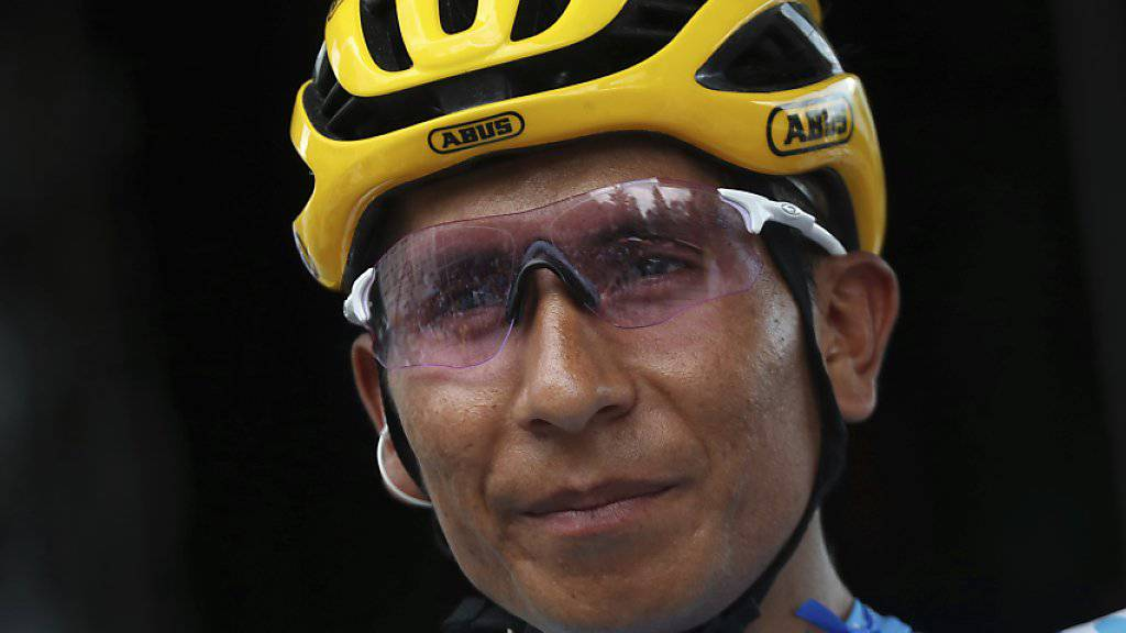 Nairo Quintana zählt an der Vuelta zum Favoritenkreis