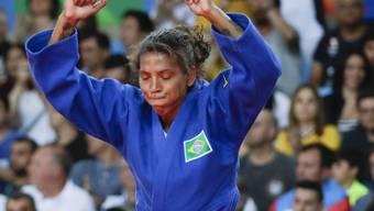 Sorgte für die erste Goldmedaille für den Olympia-Gastgeber: die brasilianische Judoka Rafaela Silva