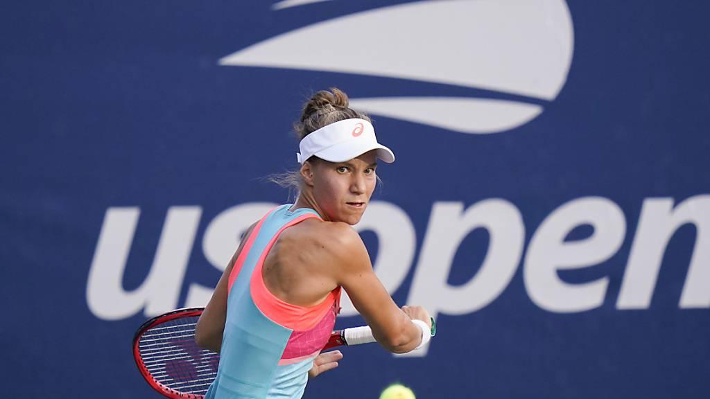 Viktorija Golubic spielt in Lyon gegen die 18-jährige Dänin Clara Tauson um den Turniersieg