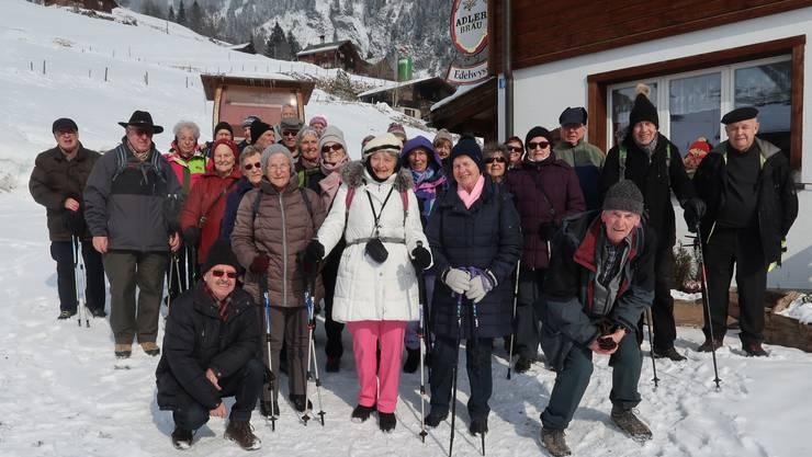 Photoshutting vor dem Berggasthaus Edelweiss Weissenberg