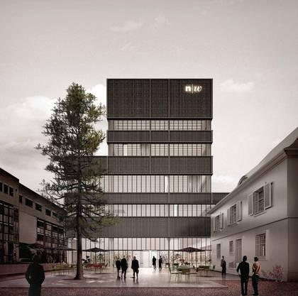 So soll das neue FHNW-Gebäude aussehen.