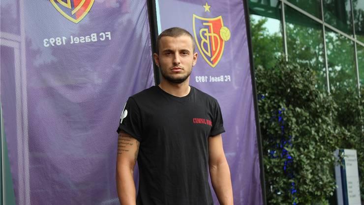 Den Traum von Profi noch nicht aufgegeben: Edon Basha vor dem Vergleich mit dem Super-League-Leader FC Zürich.