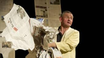 Peter Spielbauer eröffnet die Saison im Theaterstudio Olten.