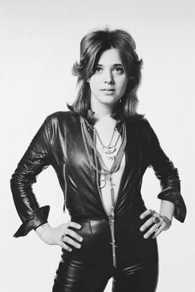 Suzi Quatro in den 1970er-Jahren: «Ich habe es nie darauf angelegt, sexy zu sein». Bild: Gered Mankowitz