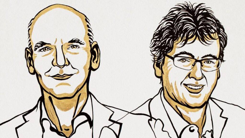 Benjamin List und David W.C. MacMillan teilen sich den diesjährigen Chemie-Nobelpreis.
