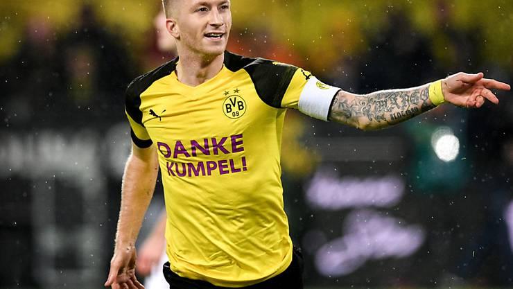 BVB-Captain Marco Reus hat die abgelaufene Saison in der Bundesliga stark geprägt