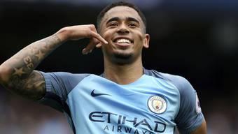 Gabriel Jesus brachte Manchester City gegen Leicester auf die Siegerstrasse