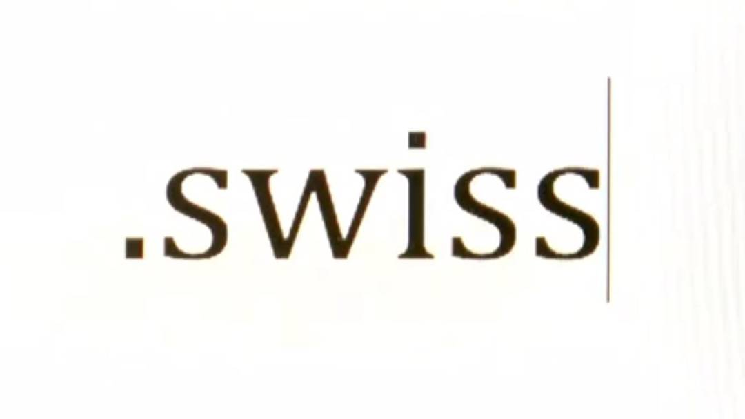 Neue Internet-Domain: .swiss statt .ch