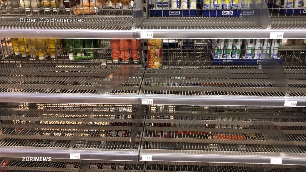 Hamsterkäufe vermiesen reguläres Samstags-Shopping