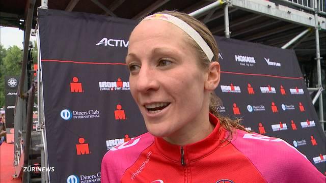 Daniela Ryf gewinnt den Zürich Triathlon
