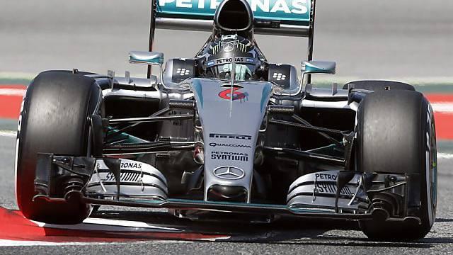 NIco Rosberg war erstmals scchneller in diesem Jahr als Hamilton