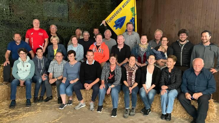 EhrenmitgliederInnen des Turnvereins Weiningen